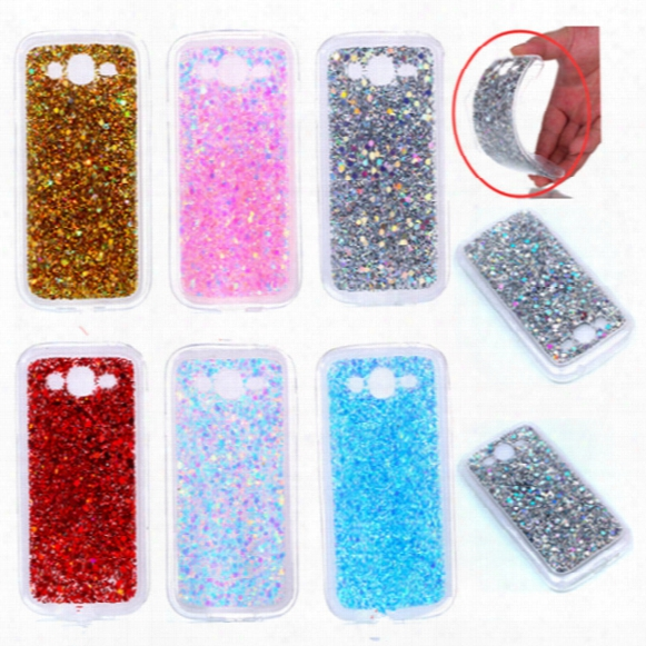 Fashion Flash Slice Phone Case For Samsung Galaxy Grand Neo I9060 Cover Acrylic Soft Tpu Silicon Mobile Phone Case For Samsung I060