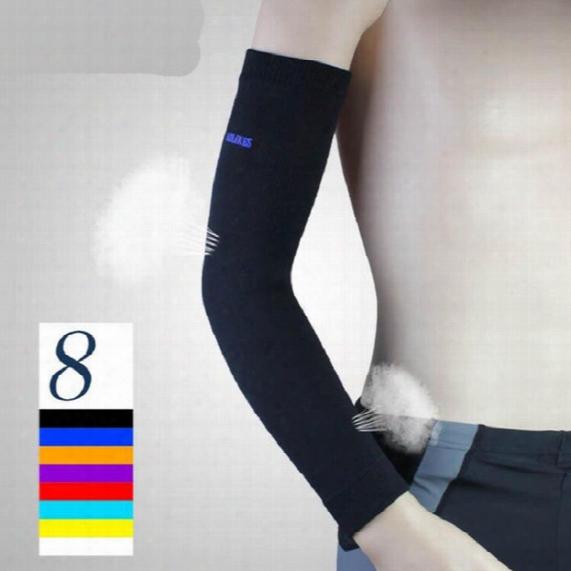 High Elastic Basketball Arm Sleeve Armband Soccer Volleyball Elbow Support Tighten Cotovelo De Basquete Sports Protector Free Shipping