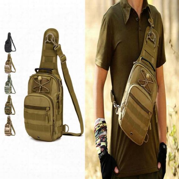 High Quality Outdoor Shoulder Tactical Backpack Rucksacks Sport Camping Travel Bag Day Backpack Shoulder Bag Large Size Multi-function Bags