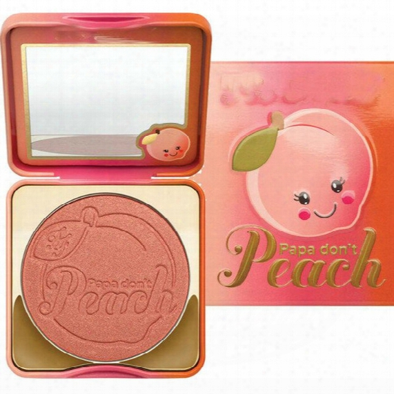 Hot Papa Don't Peach Colors Baked Blush Bronzer Cosmetic Natural Baked Blusher Powder Palette Charming Cheek Color Makeup Face Blush Palette