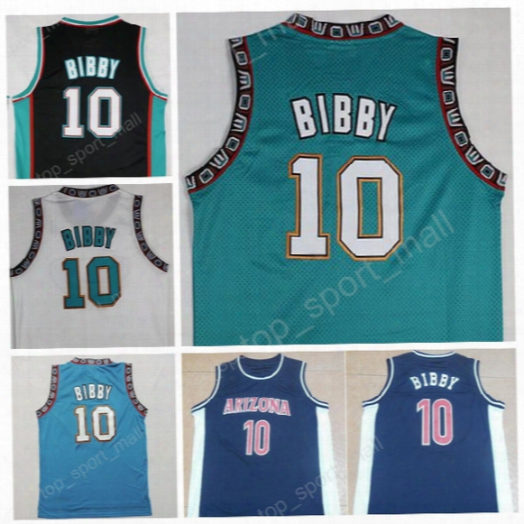 Hot Sale 10 Michael Mike Bibby Jersey Men Throwback Stitched Mike Bibby Basketball Jerseys Sports Breathable Vintage Quality Free Shipping