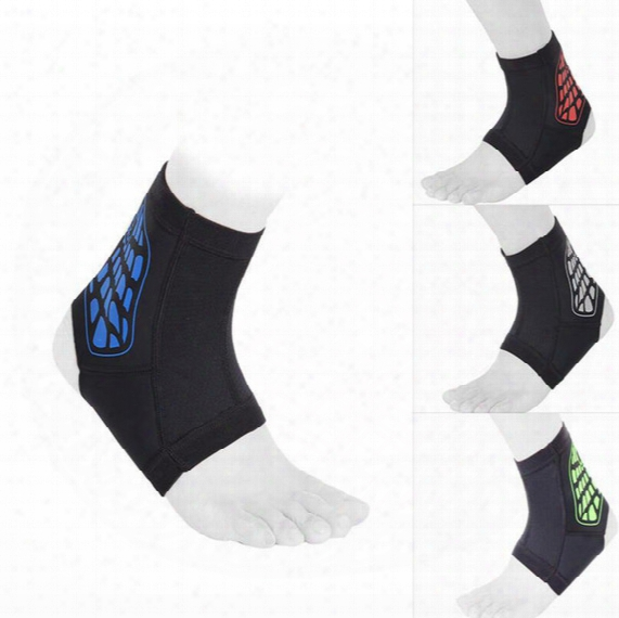 Hot Sale Sports Ankle Pad Safety Ankle Protection Elastic Brace Guard Soft Support Sports For Football Basketball Outdoor