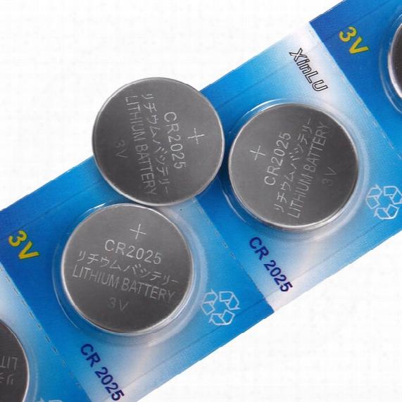 L12 20pcs Cr2025 Dl2025 Ecr2025 2025 Kcr2025 Br2025 L12 Button Cell Coin Battery For Watch ,20pcs Cr2025 Xinlu Brand Battery.