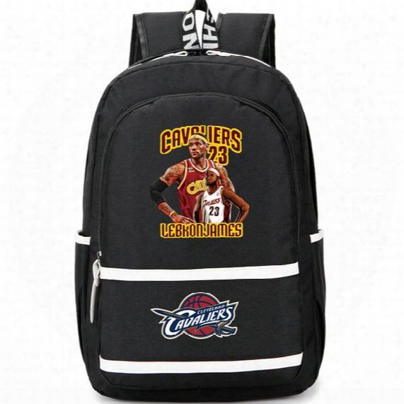 Lebron James Backpack Lbj King Day Pack Cleveland Player School Bag Basketball Rucksack Sport Schoolbag Outdoor Daypack