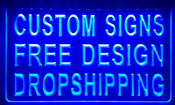 Ls001-b Design Your Own Custom Light Sign Hang Sign Home Decor Shop Sign Home Decor.jpg