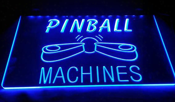 Ls683-b-pinball-machines-bar-beer-pub-neon-light-sign Decor Free Shipping Dropshipping Wholesale 6 Colors To Choose
