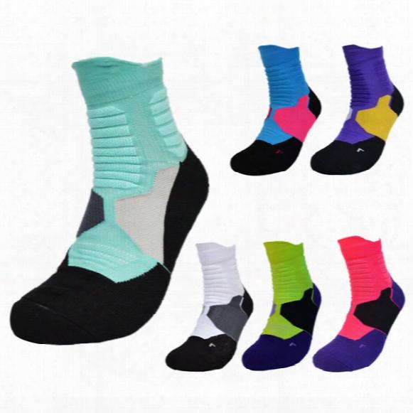 Men Outdoor Sock Basketball Running Cotton Sport Fashion Short Tube Socks
