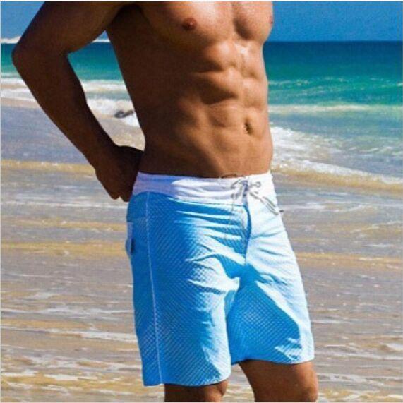 Mens Beach Shorts Sports Casual Short For Man Sea New Swimming Shorts Surf Board Wear Boxer Basketball Running Free Shipping