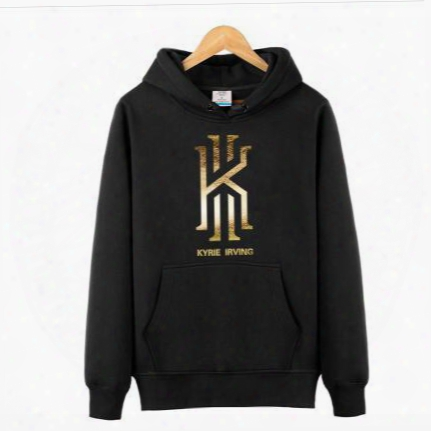 Mens Long Sleeve Pullovers Killer Cross Over Hoodes Kyrie Irving Men's Basketball Hoodies Sweatshirts Jumpers Sports Coats Clothing