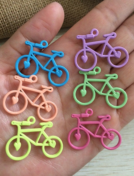 Mixed Style Alloy Bicycle Charm Pendant Mixed Color Charm 30pcs/lot