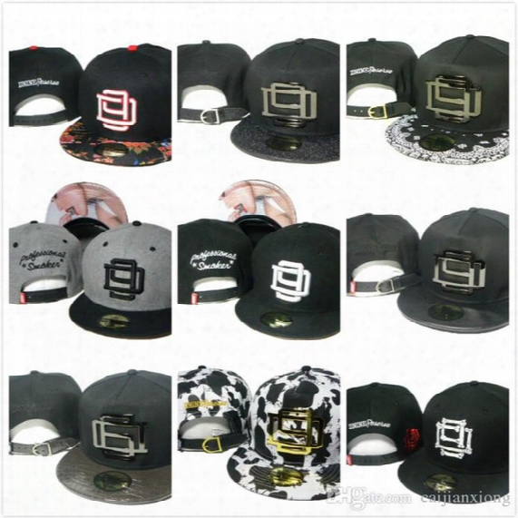 New Arrival Basketball Hats Snapback Hats Hater Snapbacks Hip-hop Adjustable Hats Caps Free Fast Shipping
