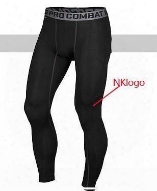 Original 2017 Brand Men Pro Combat Athletic Sport Skinny Compression Basketball Training Legging Gym Track Tight Pants Fitness