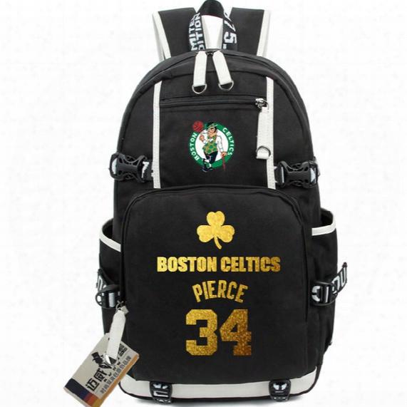 Paul Pierce Backpack The Truth Day Pack Boston Star School Bag Basketball Rucksack Sport Schoolbag Outdoor Daypack