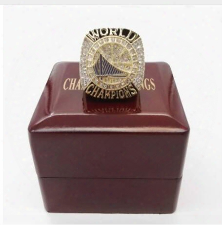 Promotion 2017 Golden State Dufant Round Basketball Custom Sports Replica World Championship Ring Size 6 To 15