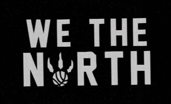 Raptors We The North Black Basketball 3x5 Feet Flag Wall Hanger
