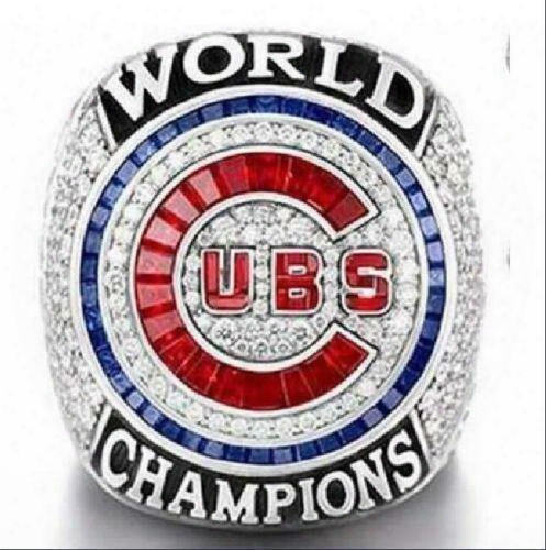 Rizzo !!! Free Shipping 2017 Wholesale 2016 Chicago Cubs World Series Championship Ring Size 8-13 (more Than 20pcs Dhl Free Shipping)