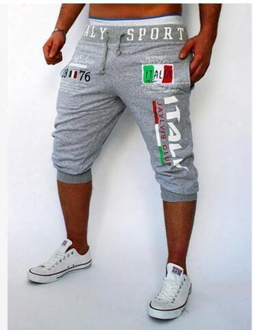Shorts Mens Gym Tights Compression Bermuda Basketball Short Gym Italy Printing Design Sport Men Homme Running Surf Shorts Suwaa