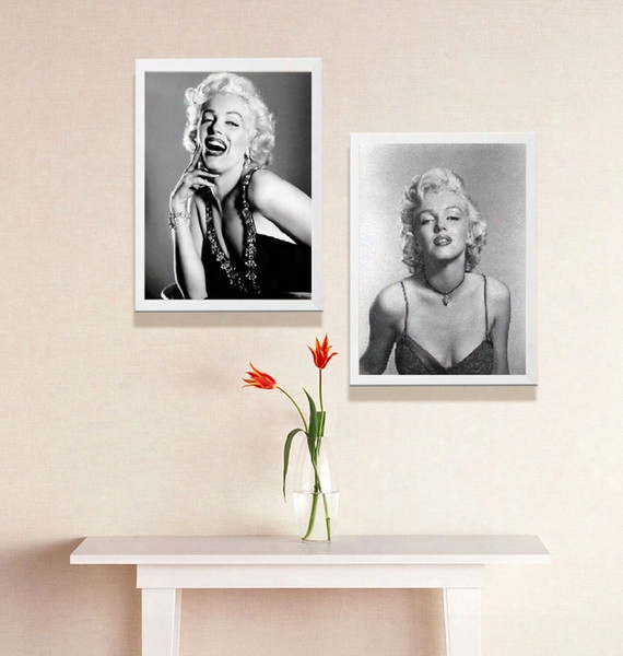 Single Unframed Marilyn Monroe Famous Actress Figure Painting Oil Painting On Canvas Giclee Wall Art Painting Art Picture For Home Decorr