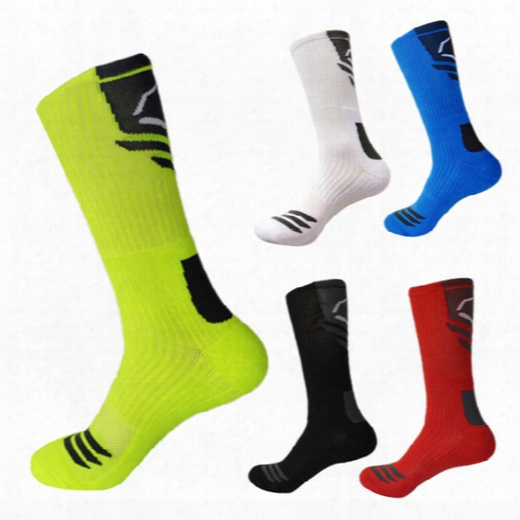 The Color Matching Socks Star Model Of Professional Basketball Socks Elite Sports Socks Socks Fluorescent High Street Socks Restoring Ancien