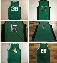 Men's Basketball Basketball Jerseys # 36 Marcus Smart # 34 Paul Pierce #5 Kevin Garnett # 9 Rajon Rondo #4 Isiah #20 Ray Allen Thomas Green