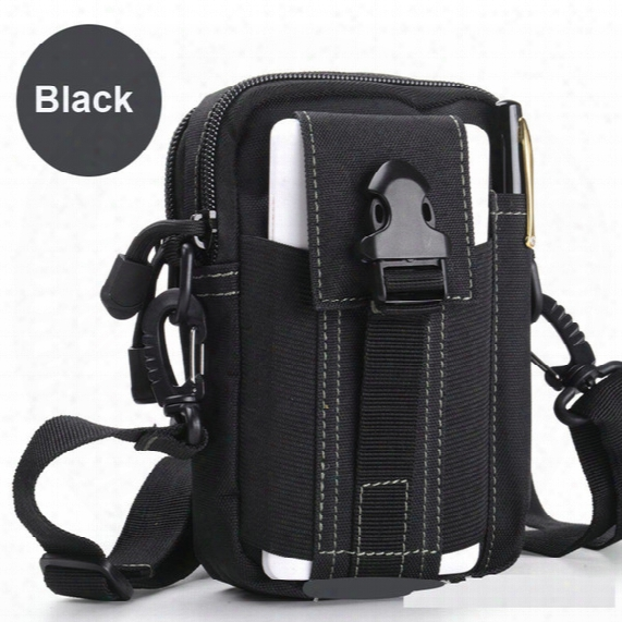 Updated Phone Case Outdoor Small Bags With Sling Tactical Molle System Waist Pack Utility Pouch Waterproof Waist Bag