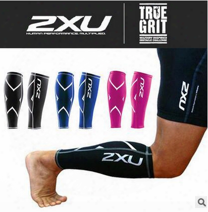 Wholesale-1 Pair Compression Leg Sleeve Men Women Cycling Leg Warmer Breathable Running Football Basketball Leg Warmers Sports Safety