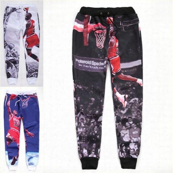 Wholesale-alisister Hip Hop Mens Basketball Pants New Fashion Printed 3d Jogger Pants Harajuku Sweatpants Sport Trousers Running Pants