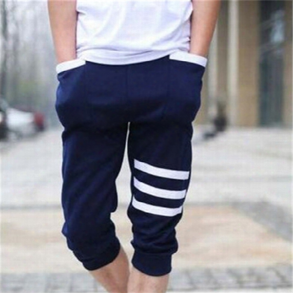 Wholesale-basketball Shorts Men 2016 Leisure Time On Vacation Hip Hop Parkour Stripe Gym Clothing Bermuda  Mens Shorts Homme Running Shorts
