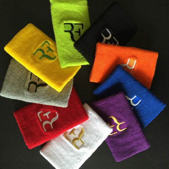 Wholesale- Free Shipping(12pcs/lot)roger Federer/nadal Wristband/tennis Racket/tennis Racquet/basketball Wristband/badminton Wristband
