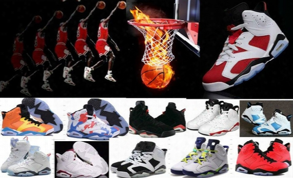 Wholesale Retro 6-7-9-11-12 Men Basketball Shoes Men Woman Retro 6 Vi Carmine Infrared 6s Blue Olympic Slam Dunk Oreo Athletics 6s Sneakers