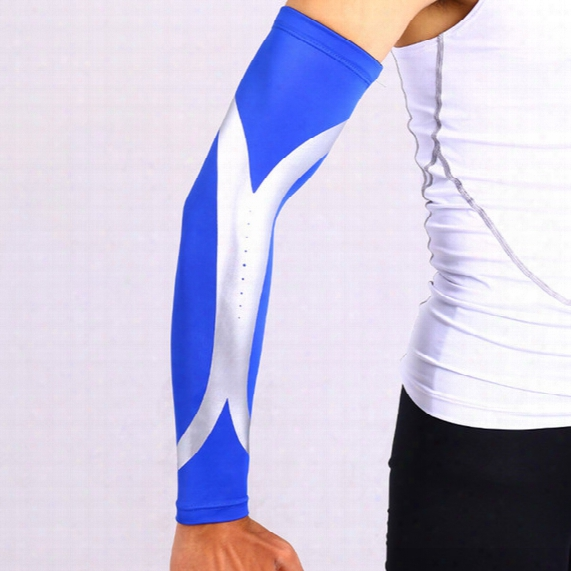 Wholesale-sports Elbow Pads Elastic Warmers Long Arm Sleeve Of Basketball Support Arm