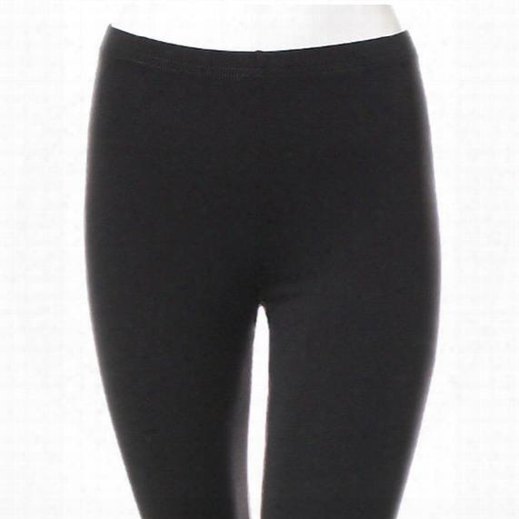 Basic Supplex Capri Legging - Womens
