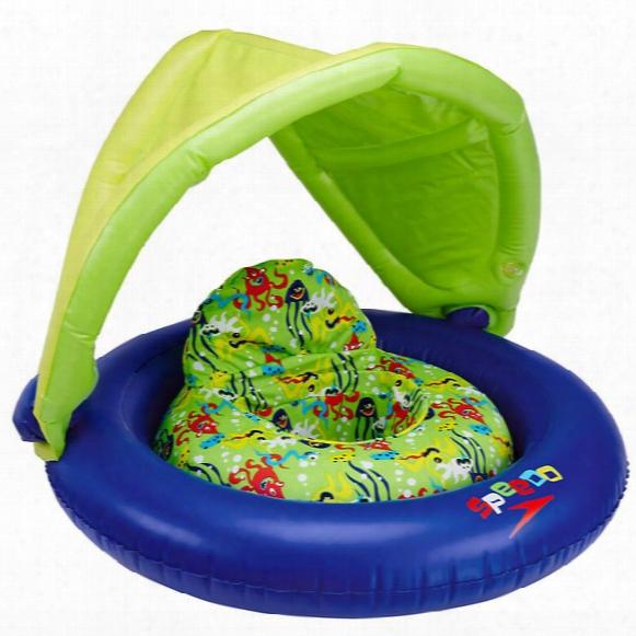 Begin To Swim Fabric Baby Cruiser With Canopy