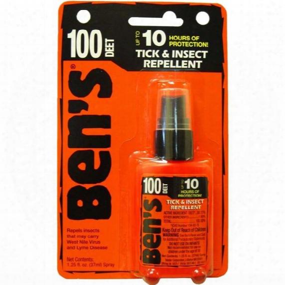 Ben'-100 Tick & Insect Repellent 1.25oz Pump