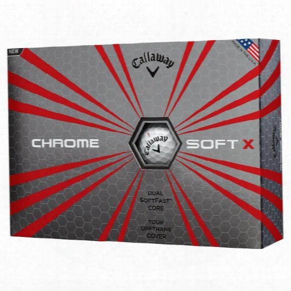 Chrome Soft X Golf Balls '17