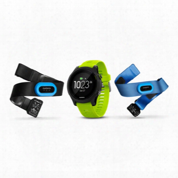 Forerunner 935 Tri-bundle (black With Yellow Straps)