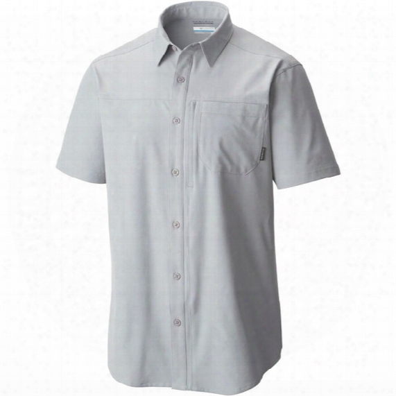 Global Adventure Iv Solid Short Sleeve Shirt - Mens
