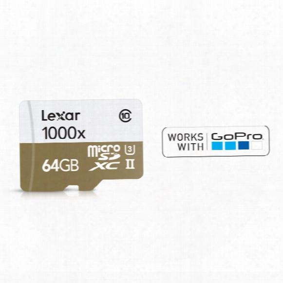Lexar Microsdxc Memory Card - 64gb
