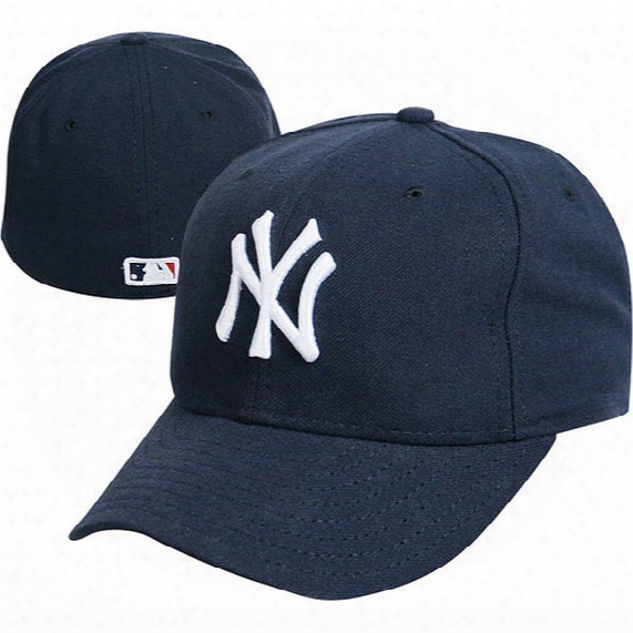 "Mlb New York Yankees Authentic Collection 59fifty Home ""on-field"" Cap - Mens"