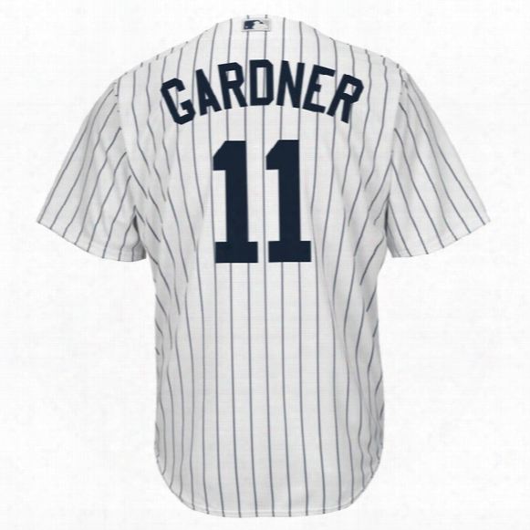 Mlb New York Yankees Cool Base Player Jersey ( Brett Gardner ) - Youth
