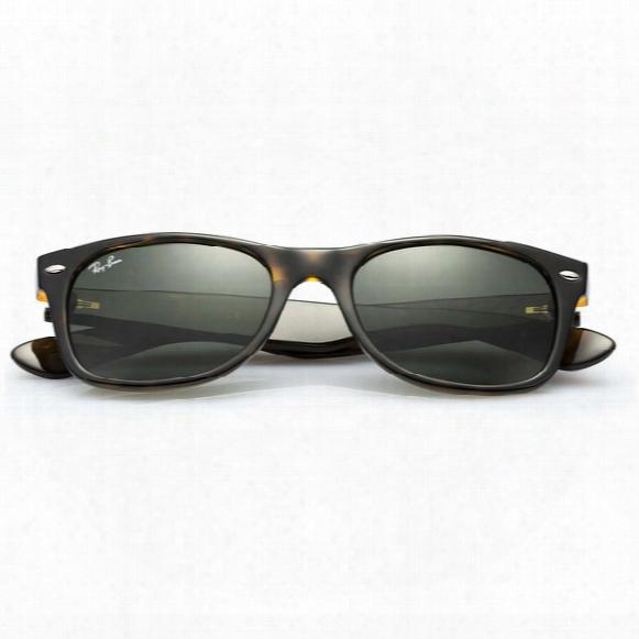 New Wayfarer Classic Sunglasses - Green Classic Lens