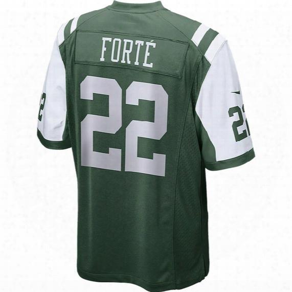 Nfl New York Jets Game Jersey ( Matt Forte ) - Mens