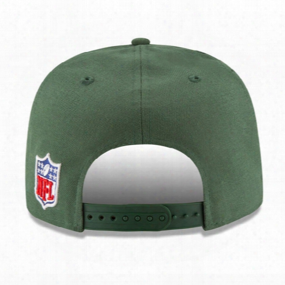 Nfl New York Jets Sideline 9fifty Snapback Adjustable Hat - Youth
