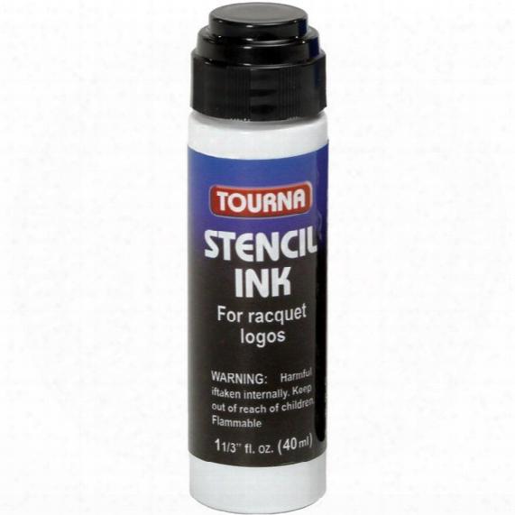 Racquet Stencil Ink