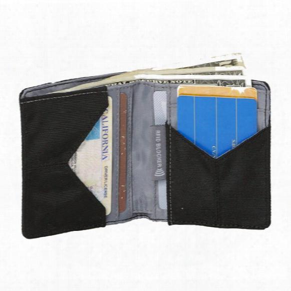 Rfid Bi-fold Wallet Vertical