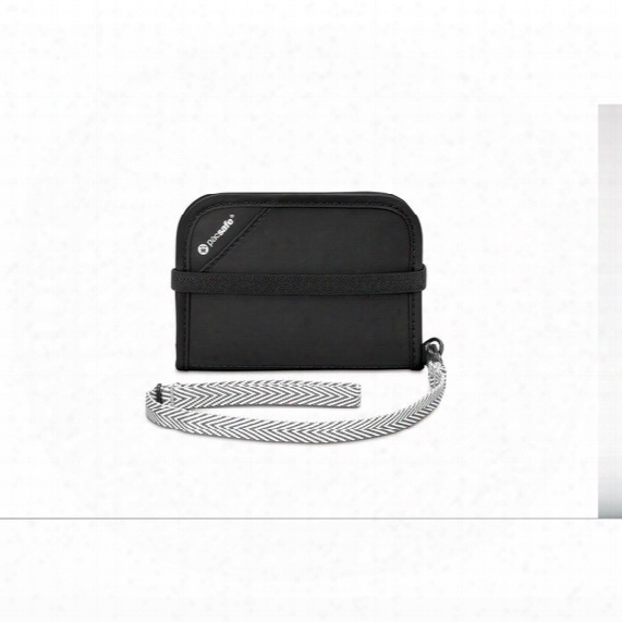 Rfidsafe V50 Anti-theft Rfid Blocking Compact Wallet