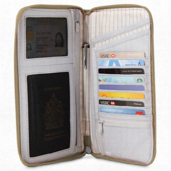 Rfidsafe W250 Rfid Blocking Travel Organizer
