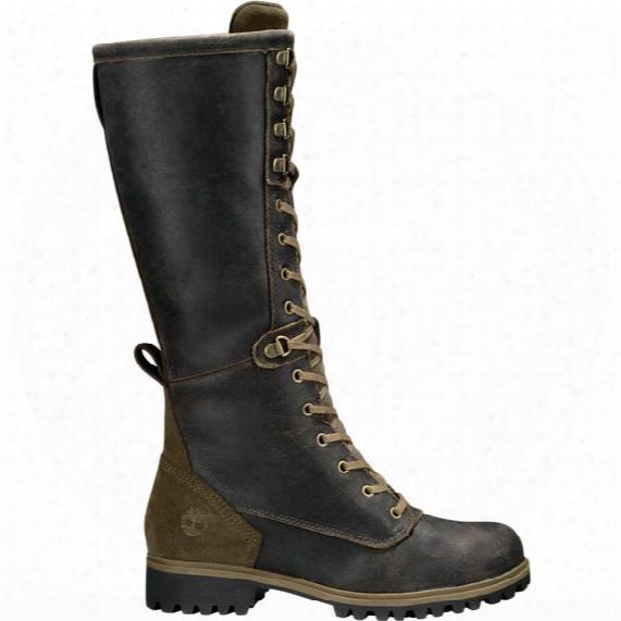 Timberland Wheelwright Tall Lace-up Waterproof Boots - Womens