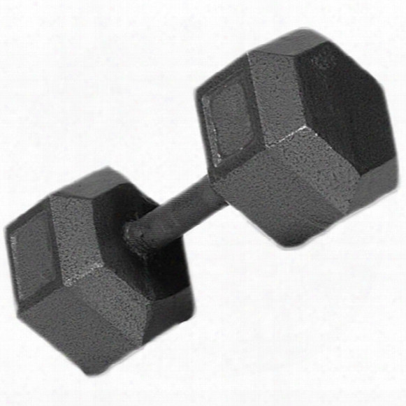 Troy Barbell Solid Hex Dumbbell - 12 Lbs.