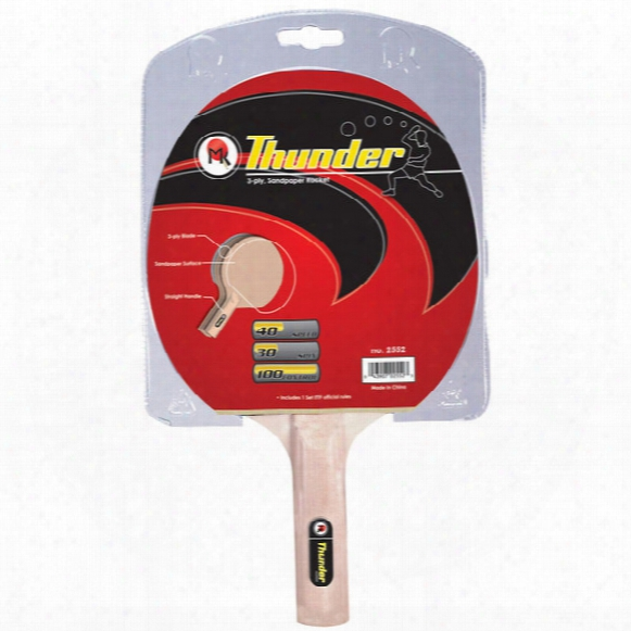 Butterfly Table Tennis Thunder Sandpaper Racket